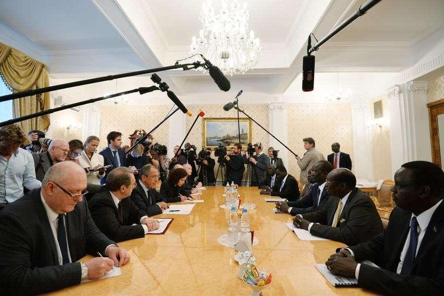 Трёхсторонняя встреча глав МИД России, Судана и Южного Судана - прямая трансляция