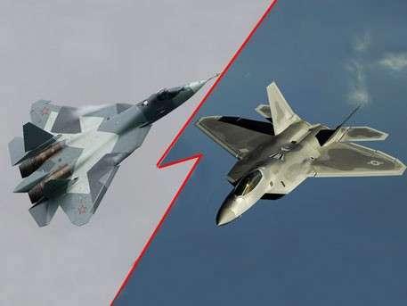 США попытались угадать, какой самолёт лучше: наш T-50 или их F-22?