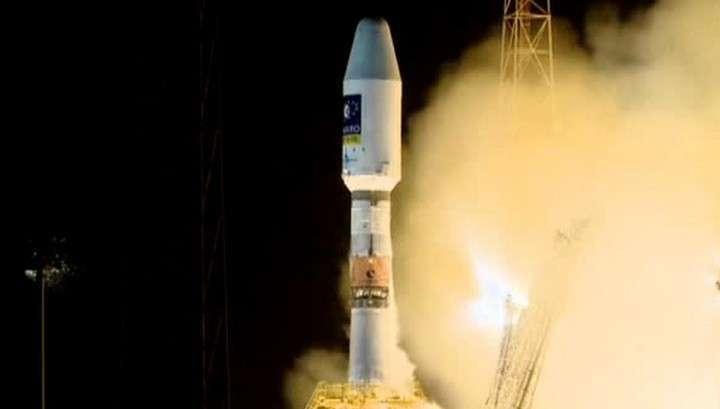Ракета-носитель «Союз» подняла на орбиту два европейских спутника