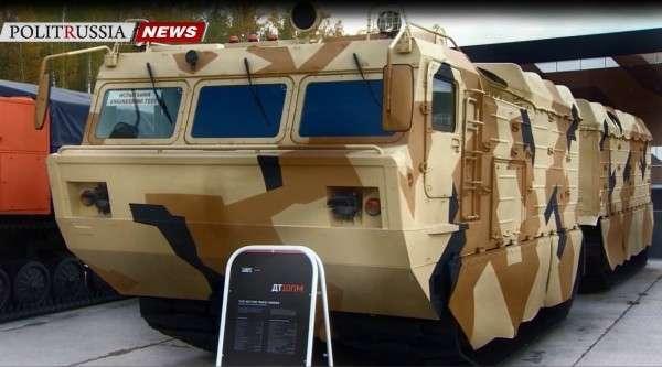 «Уралвагонзавод» разработал боевые транспортёры DT-3 и DT-10