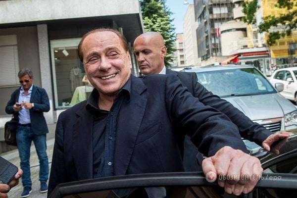 Сильвио Берлускони прибыл в Крым для встречи с Владимиром Путиным