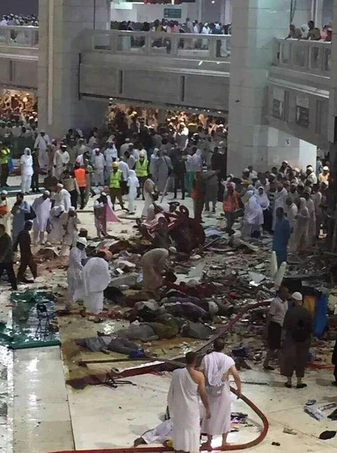 Число погибших в мечети аль-Харам в Мекке возросло до 87 человек