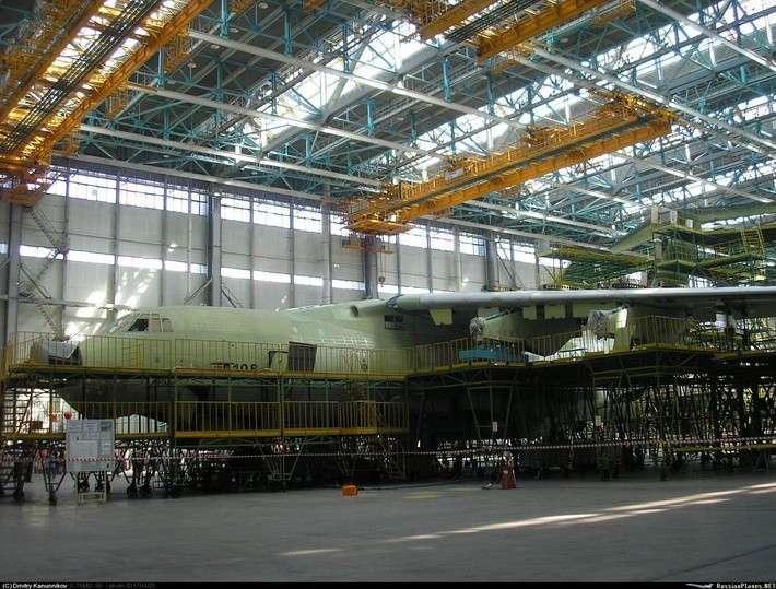 Сборка самолётов Ил-76МД-90А в Ульяновске
