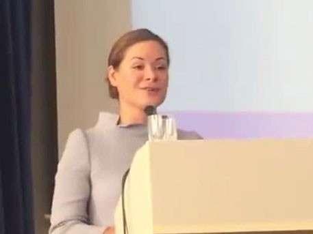 Альтернативно одарённая Мара Гайдар заговорила по-украински