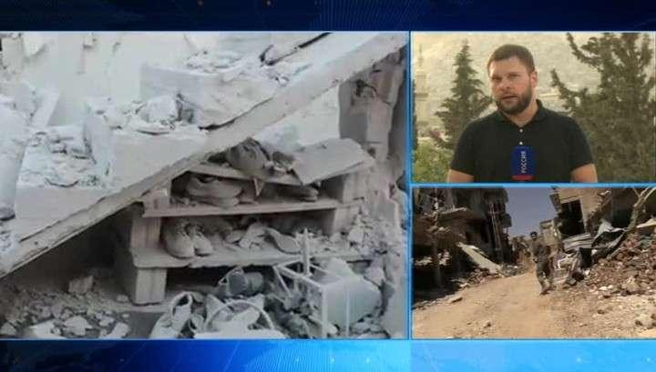Ситуация в Сирии. Репортаж Евгения Поддубного из Дамаска
