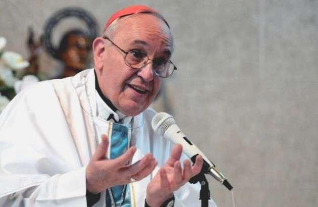 Папа римский Франциск. Иллюстрация: tyt.by