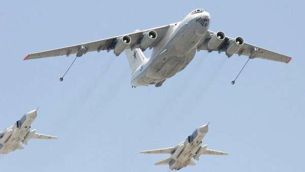 Самолет-заправщик Ил-78 российских ВВС. Архивное фото