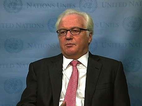 Виталий Чуркин заявил, что удары коалиции по Сирии незаконны