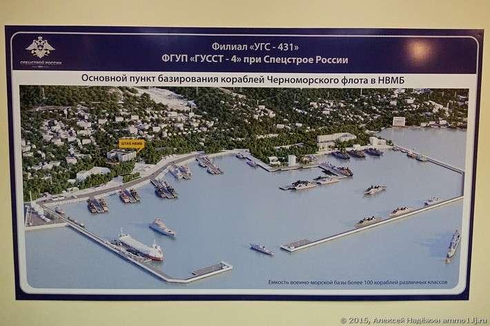 Строительство базы ВМФ в Новороссийске