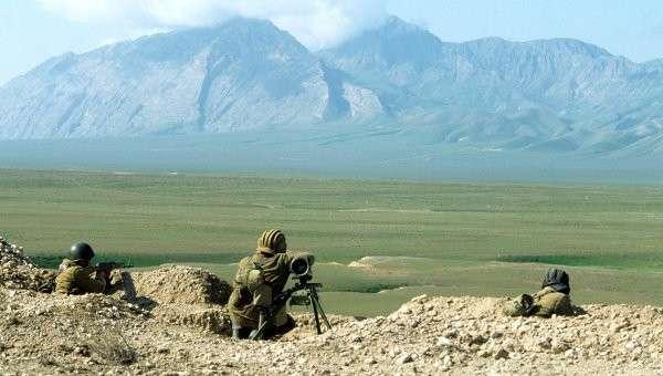 Военнослужащие таджикской армии. Архивное фото