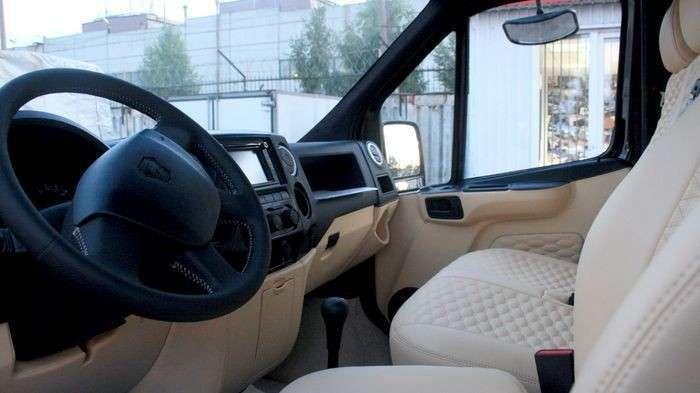 Компания «Луидор» выпустила свой пикап на базе «ГАЗон NEXT»