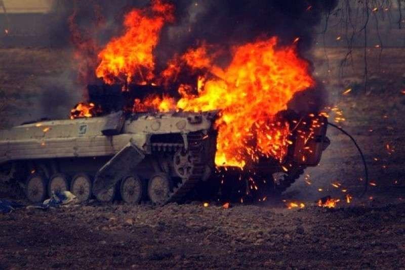 Каратели несут потери у Бахмутовки, Донецк накрывают из миномётов