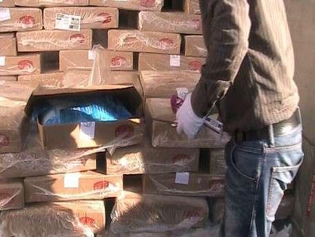 В Россию привезли в фарше полтонны бразильского кокаина