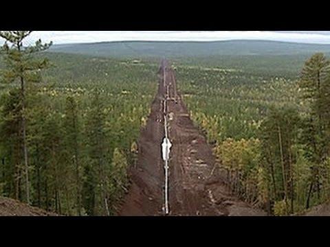 Строительство газопровода «Сила Сибири»