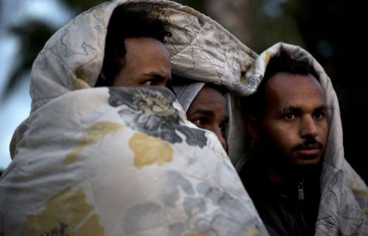 В Финляндии проходят акции против приема беженцев