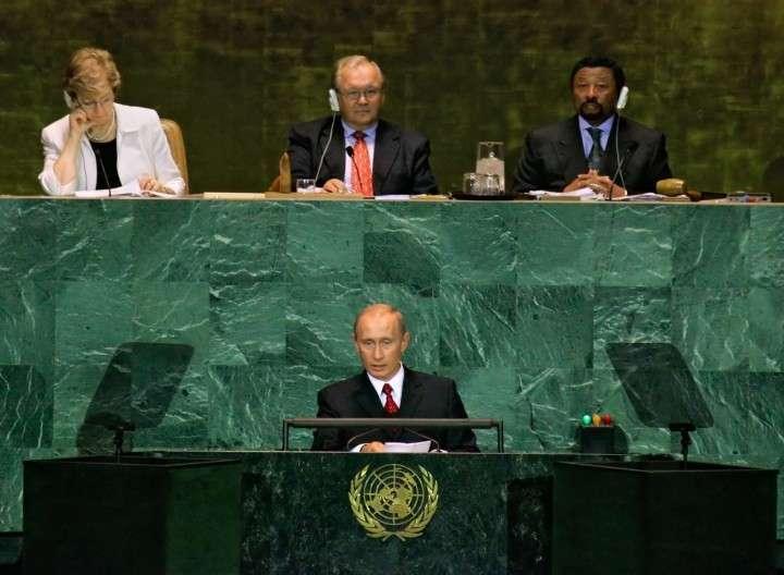 Spiegel: США опасаются выступления Путина на Генассамблее ООН