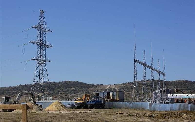 Энергомост в Крым будет построен до начала 2016 года