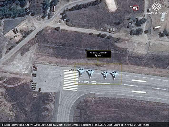 Су-30СМ в Сирии