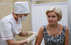 Ольга Голодец рекламирует абсолютно бесполезные прививки против гриппа