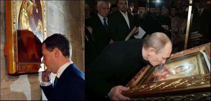 Судя по статистике, христианства в России практически нет