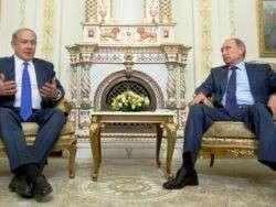 Беня Нетаньяху приезжал наезжать на Владимира Путина
