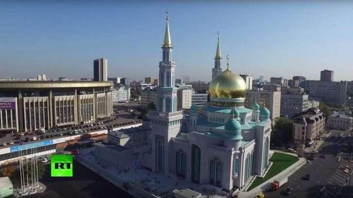 Церемония открытия Московской соборной мечети - прямая трансляция