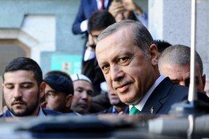 Зеленый галстук президента Эрдогана