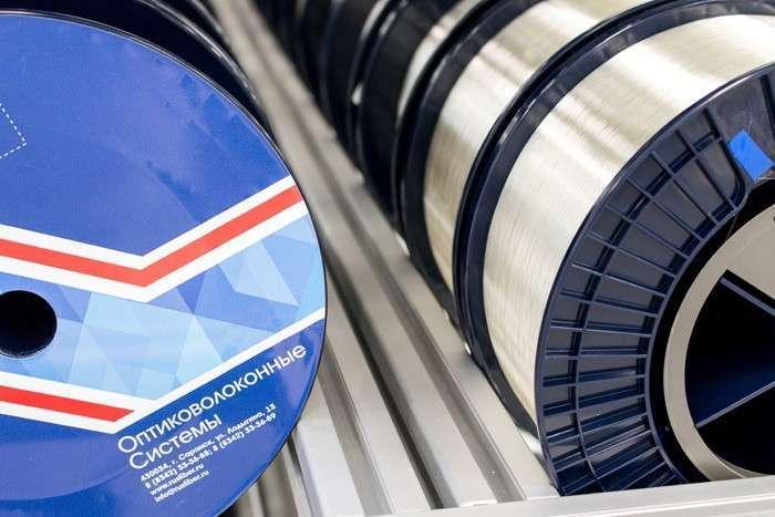 В Мордовии открыли первый в России завод по производству оптоволокна