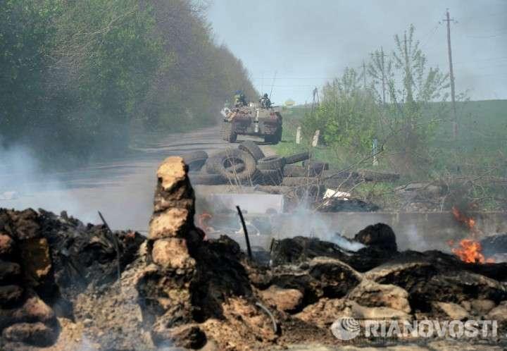 В Днепропетровской области взбунтовалось 1500 военных Украины