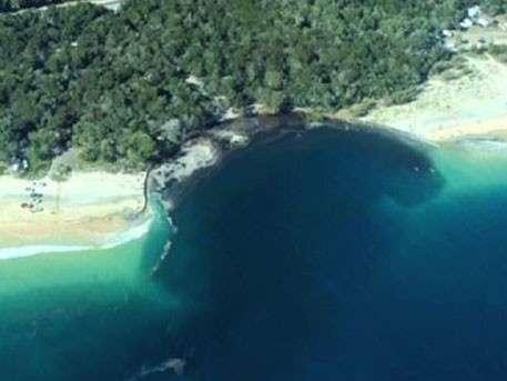 Часть австралийского побережья ушла под воду