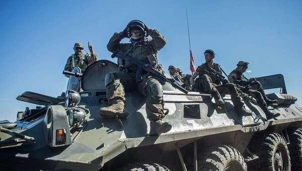 Ополченцы Донбасса, архивное фото