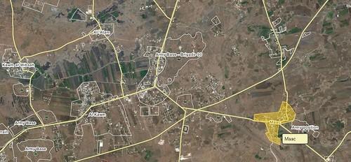 Израиль нанёс очередной авиаудар по базе 90 бригады армии аль-Ассада в Сриии