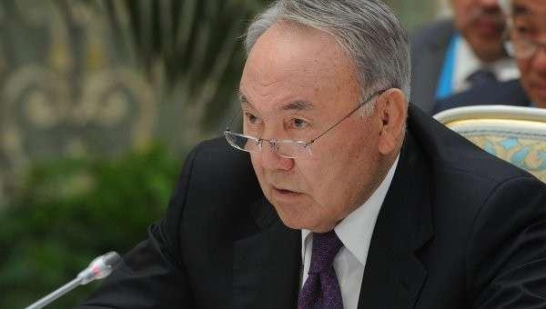 Президент Республики Казахстан Нурсултан Назарбаев, архивное фото
