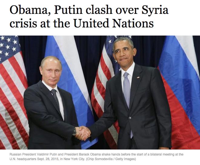 Западные СМИ о 95-минутной встрече Владимира Путина и Обамы