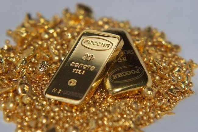 Добыча золота в РФ в первом квартале 2014 г. выросла на треть