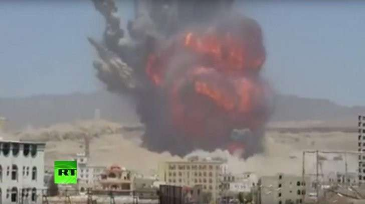 О нападении коалиции бандитов на Йемен