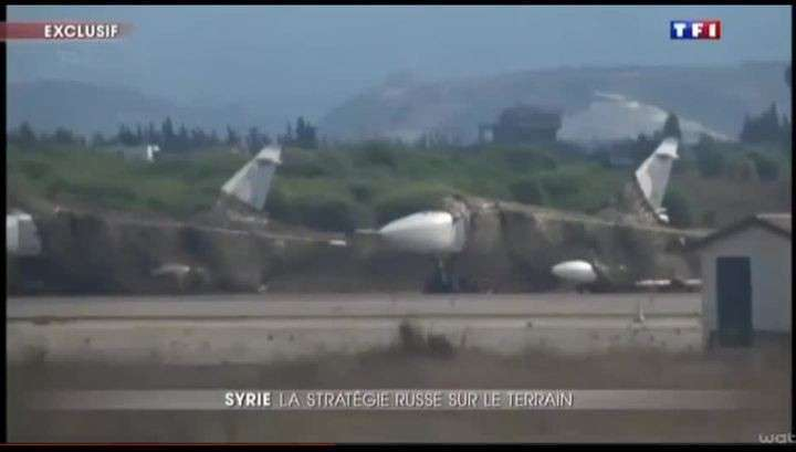 Российские самолёты и вертолёты в Сирии