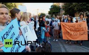 В Риме прошла демонстрация против искажения европейскими СМИ информации о ситуации на Украине
