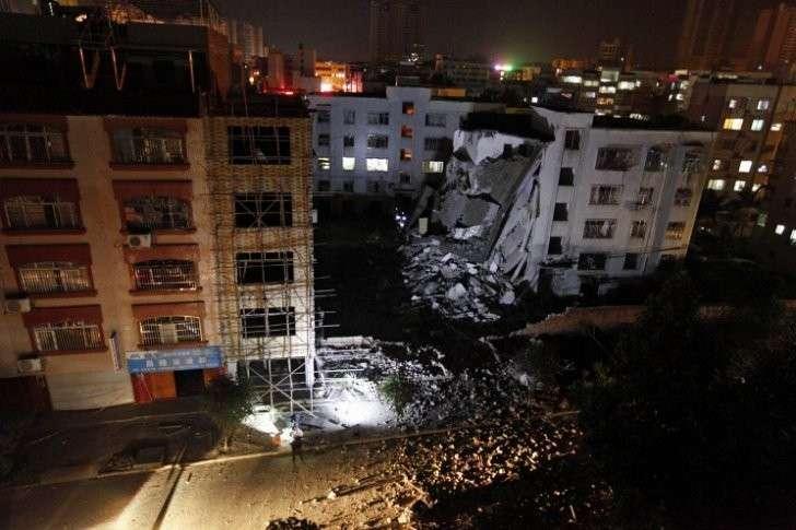 На юге Китая зафиксирован ещё один взрыв