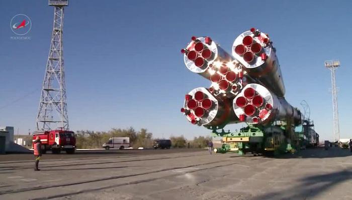 Космодром Байконур готовится к запуску очередного грузовика к МКС