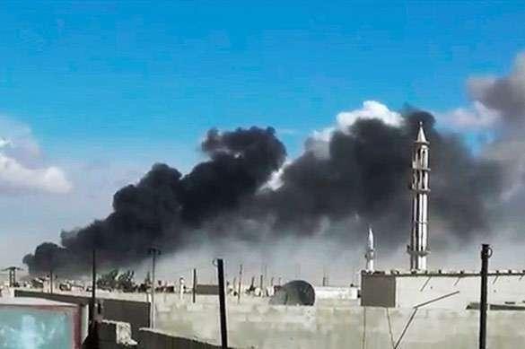 Российские бомбардировки в Сирии