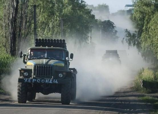 Ударный кулак киевской Хунты под Донецком готов к наступлению