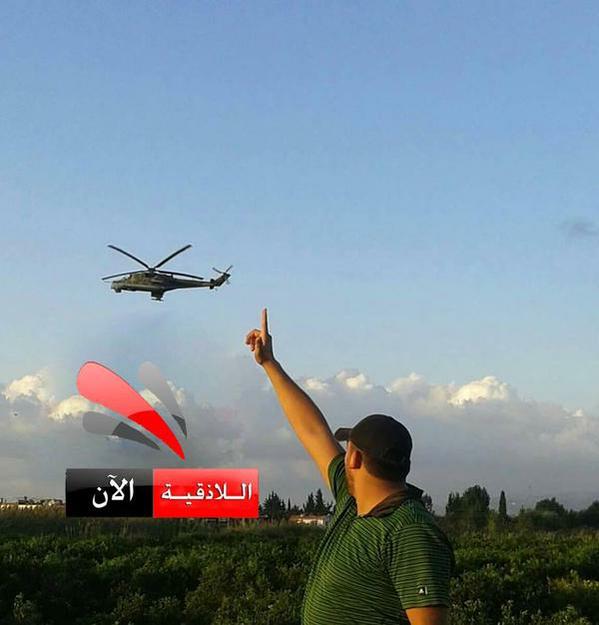 01.10.2015 – Второй день военной операции РФ в Сирии - продолжение