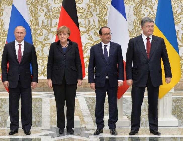 Сегодня в Париже пройдёт саммит «нормандской четвёрки»