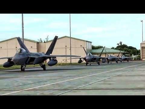 США перебрасывают к границам Сирии истребители F-22?