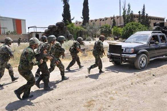 военные НАТО в Сирии