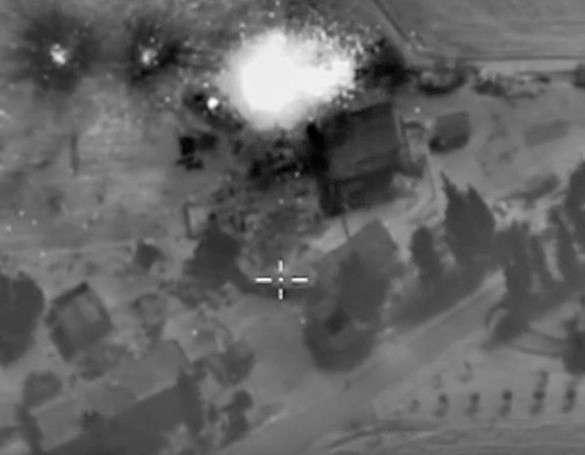 авиаудары РФ в Сирии