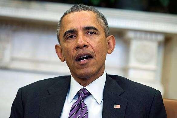 Обама с открытым ртом