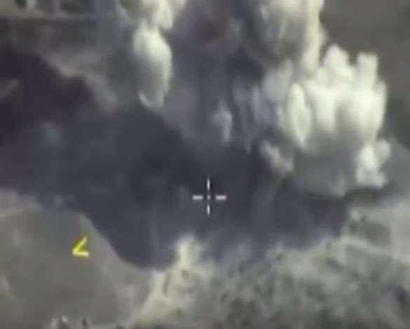 авиаудары в Сирии самолетами РФ от 03.10.15