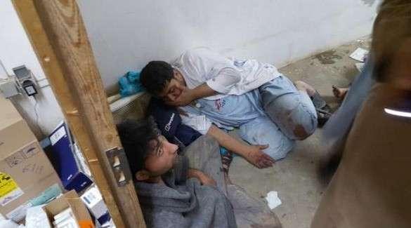 Врачи без границ в Кундузе, бомбежка